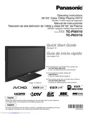 Panasonic TCP50G10 Manuals
