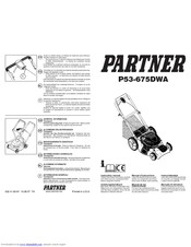 Partner P53-675DWA Manuals