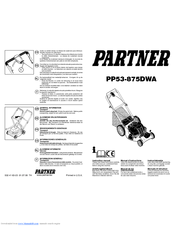 Partner PP53-875DWA Manuals