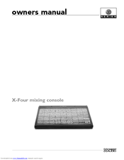 Crest Audio X-Four Manuals
