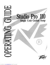 Peavey Studio Pro 110 Manuals