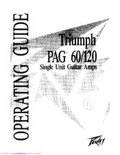 Peavey Triumph TriumphPAG 60 Manuals