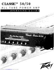 Peavey Classic 50/50 Manuals