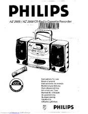 Philips AZ 2808 Manuals