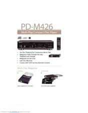 Pioneer PD-M426 Manuals