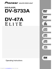 Pioneer DV-47Ai Manuals