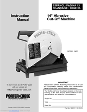 Porter Cable Tiger Saw 735 Manual