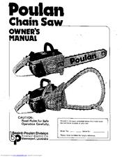 Poulan Pro 245A Manuals