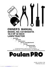 Poulan Pro 191663 Manuals