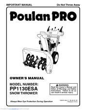 Poulan Pro 183615 Manuals