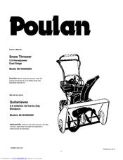 Poulan Pro 96194000200 Manuals