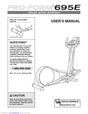 Proform 695e Manuals