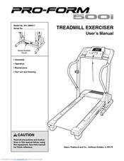 Proform 500i Treadmill Manuals