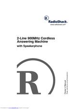 Radio Shack 900MHz Manuals