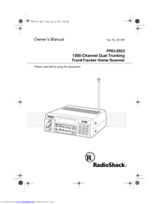 Radio Shack PRO-2052 Manuals