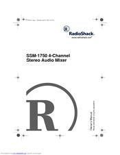 Radio Shack SSM-1750 Manuals
