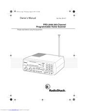 Radio Shack PRO-2048 Manuals