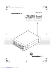 Radio Shack PRO-2056 Manuals