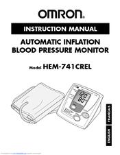Omron ReliOn HEM-741CREL Manuals