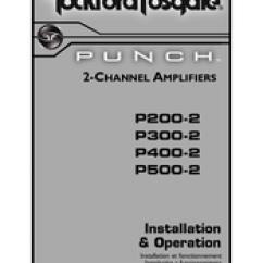 Rockford Fosgate Punch P200 2 Wiring Diagram Vw Golf Mk1 Cabrio Manuals Installation And Operation Manual