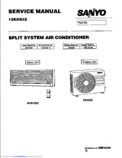 Sanyo KHS1232 Manuals