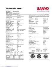 Sanyo TS3632 Manuals