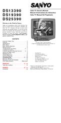 Sanyo DS25390 Manuals