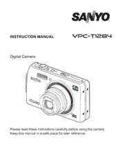 Sanyo VPC-T1284 Manuals