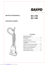 Sanyo SC-150 Manuals