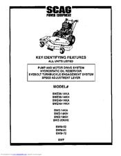 Scag Power Equipment SW48-14KA Manuals