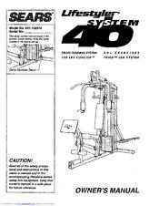 Sears 831.159310 Manuals