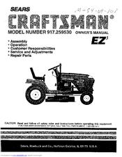 Craftsman 917.25953 Manuals