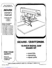 Craftsman 113.197151 Manuals