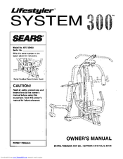 Sears Lifestyler 831.159421 Manuals