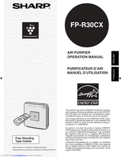Sharp FP-R30CX Manuals