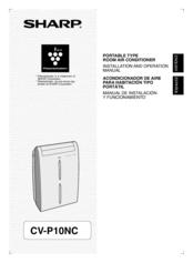 Sharp CV-P10MC Manuals
