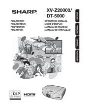 Sharp DT-500 Manuals