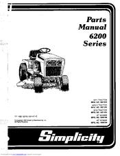 Simplicity 1690709 Manuals
