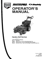 Simplicity 5900846 Manuals