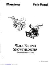 Simplicity 1974 Manuals