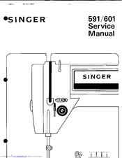 Singer 591 Manuals