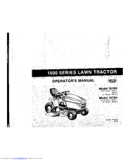 Deutz-allis 1613H Manuals