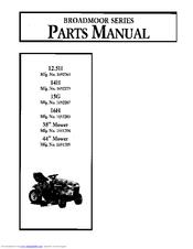 Simplicity 1692283 Manuals