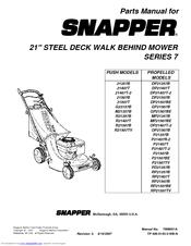 Snapper 21357B Manuals