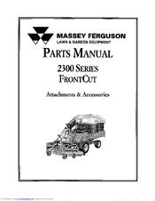 Massey Ferguson 2300 Series Manuals
