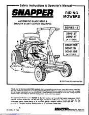 Snapper 250612T Manuals