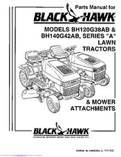Black Hawk BH120G38AB Manuals