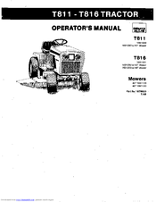 Deutz-allis T816 Manuals