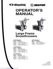 Snapper 1695328 Manuals
