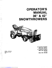 Simplicity 1691522 Manuals